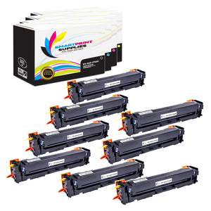 HP 202X Replacement 4 Colors Toner Cartridge by Smart Print Supplies /3,200 per black cartridge and 2,500 per color cartridge Pages