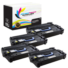 4 Pack HP 25X CF325X Replacement Black High Yield MICR Toner Cartridge by Smart Print Supplies
