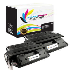 2 Pack HP 27X C4127X Replacement Black High Yield MICR Toner Cartridge by Smart Print Supplies