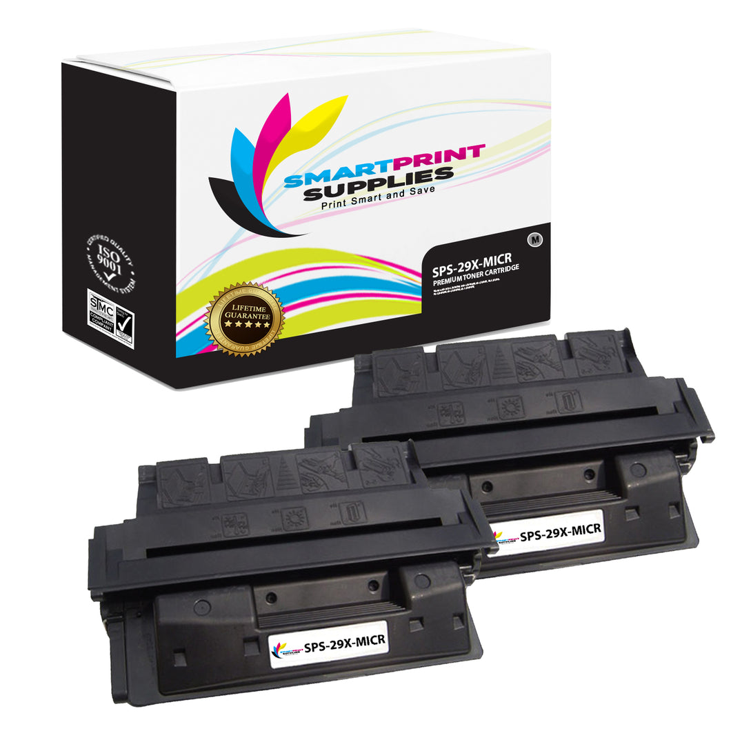 HP 29X MICR Replacement Black Toner Cartridge by Smart Print Supplies /10000 Pages