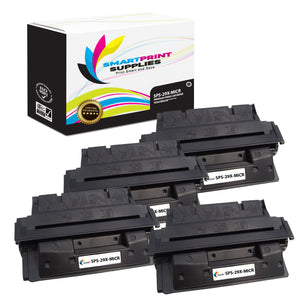 4 Pack HP 29X C4129X Replacement Black High Yield MICR Toner Cartridge by Smart Print Supplies