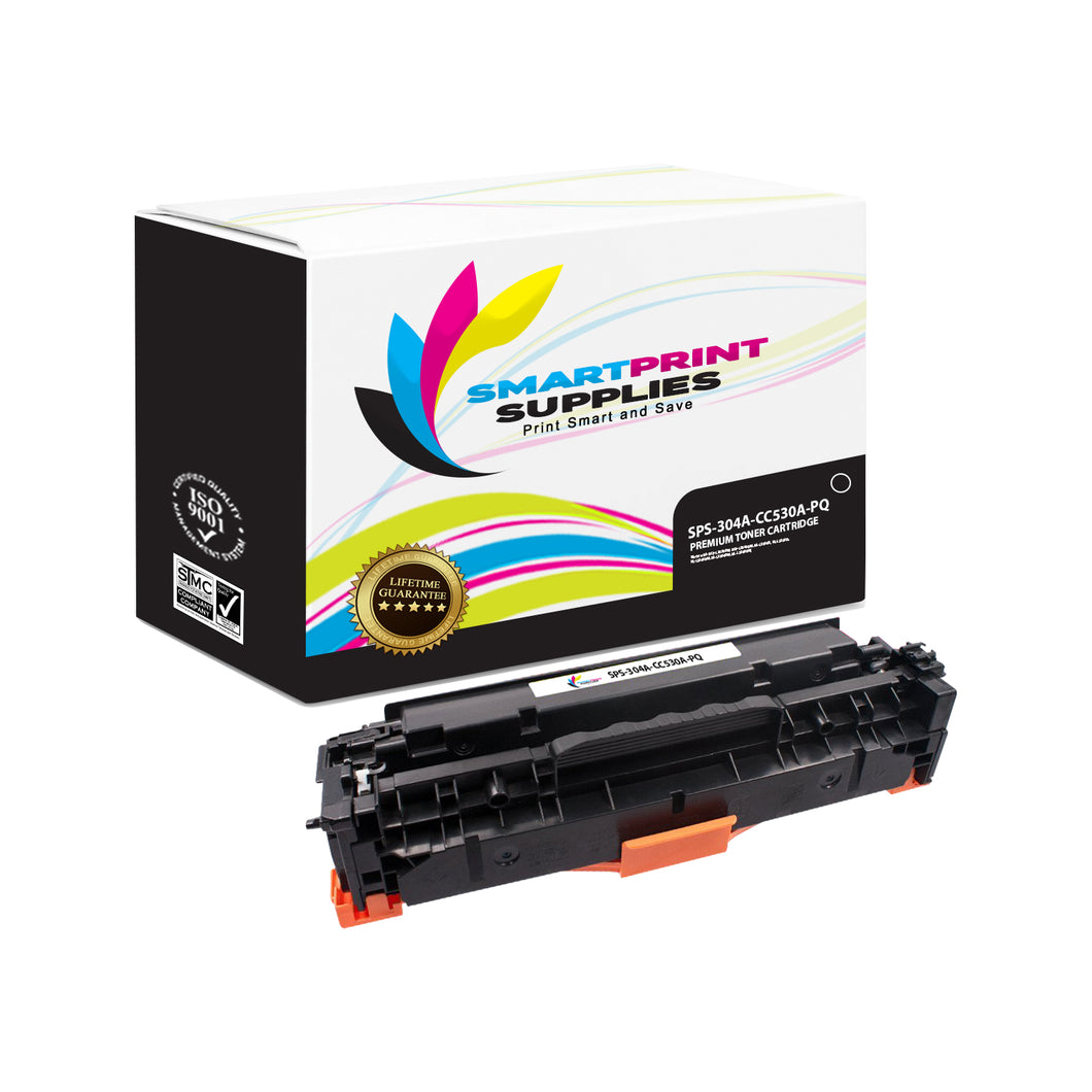 1 Pack HP 304A Premium Replacement Black Toner Cartridge by Smart Print Supplies