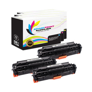 3 Pack HP 304A Premium Replacement 3 Colors Toner Cartridge by Smart Print Supplies