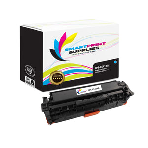 HP 305A/305X CE411A Replacement Cyan Toner Cartridge by Smart Print Supplies