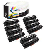 HP 305X Replacement 4 Colors Toner Cartridge by Smart Print Supplies /4,000 per black cartridge, and 2,600 per color cartridge Pages