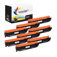 8 Pack HP 30A Black Toner Cartridge Replacement By Smart Print Supplies