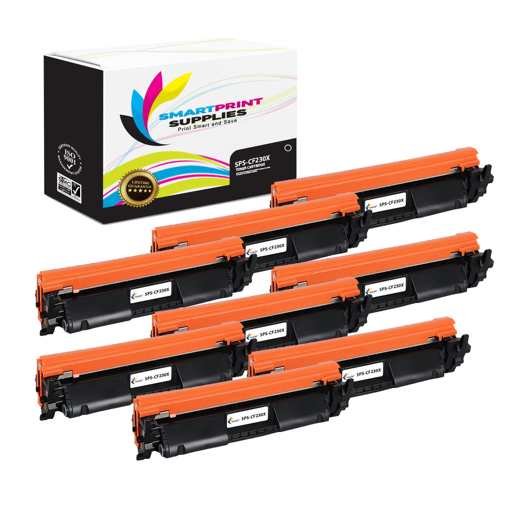 HP 30X Replacement Black Toner Cartridge by Smart Print Supplies /3500 Pages