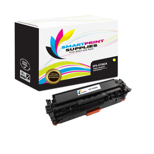 HP 312A/312X CF382A Replacement Yellow Toner Cartridge by Smart Print Supplies