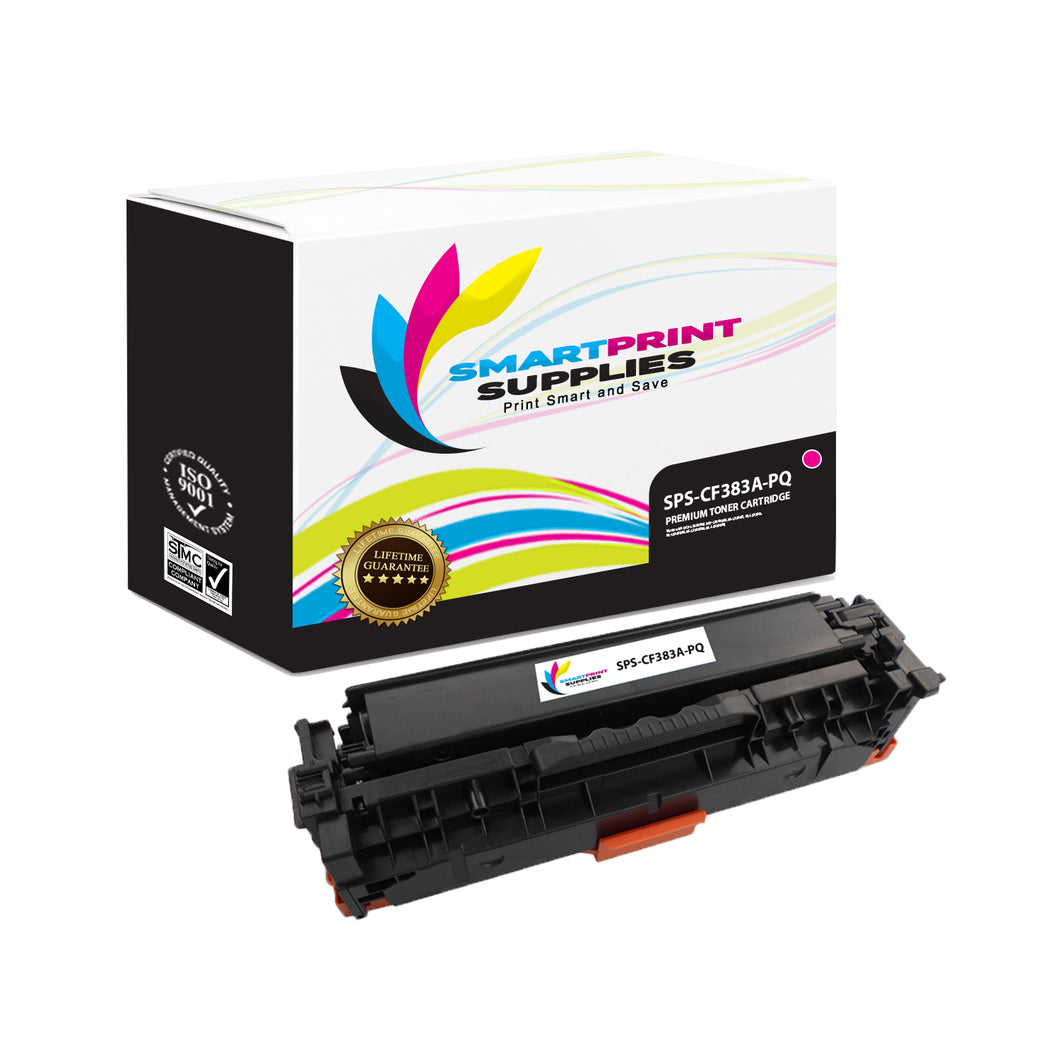 HP 312A/312X CF383A Premium Replacement Magenta Toner Cartridge by Smart Print Supplies