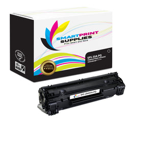 HP 35A CB435A Premium Replacement Black Toner Cartridge by Smart Print Supplies