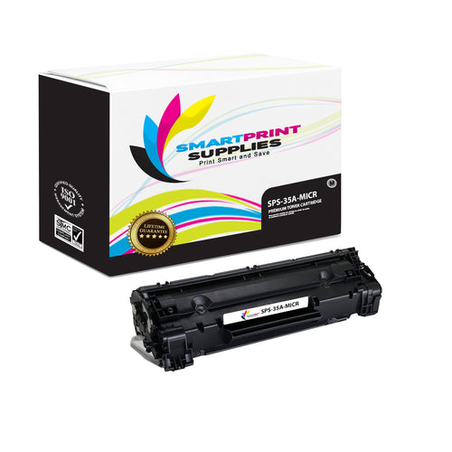 HP 35A CB435A Replacement Black MICR Toner Cartridge by Smart Print Supplies