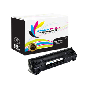 HP 36A CB436A Replacement Black Toner Cartridge by Smart Print Supplies