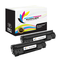 2 Pack HP 36X Black Jumbo Yield Toner Replacement By Smart Print Supplies