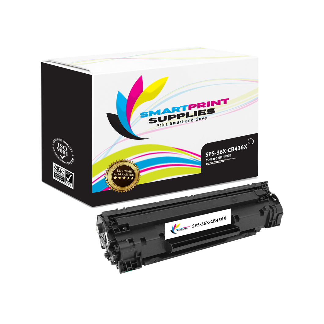 1 Pack HP 36X Black Jumbo Yield Toner Replacement By Smart Print Supplies