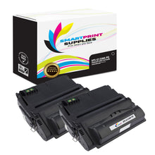 2 Pack HP 38A Q1338A Premium Replacement Black Toner Cartridge by Smart Print Supplies
