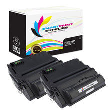 2 Pack HP 38A Q1338A Replacement Black Toner Cartridge by Smart Print Supplies