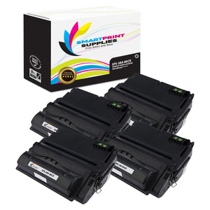 4 Pack HP 38A Q1338A Replacement Black MICR Toner Cartridge by Smart Print Supplies