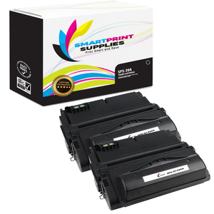 2 Pack HP 39A Q1339A Replacement Black Toner Cartridge by Smart Print Supplies