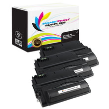 3 Pack HP 39A Q1339A Premium Replacement Black Toner Cartridge by Smart Print Supplies