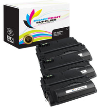 3 Pack HP 39A Q1339A Replacement Black Toner Cartridge by Smart Print Supplies