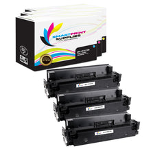 3 Pack HP 410A Replacement (CMY) Toner Cartridge by Smart Print Supplies