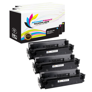 Smart Print Supplies 410A Replacement Colour Toner Cartridge Three Pack