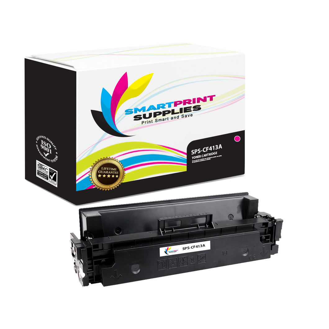 HP 410A CF413A Replacement Magenta Toner Cartridge by Smart Print Supplies