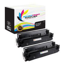 2 Pack HP 410X CF410X Replacement Black High Yield Toner Cartridge by Smart Print Supplies
