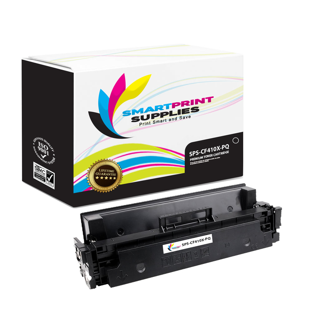 HP 410X CF410X Premium Replacement Black High Yield Toner Cartridge by Smart Print Supplies