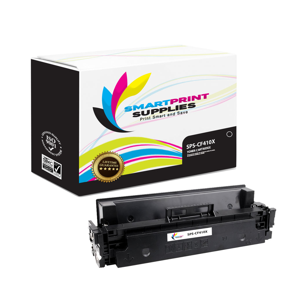 HP 410X CF410X Replacement Black High Yield Toner Cartridge by Smart Print Supplies