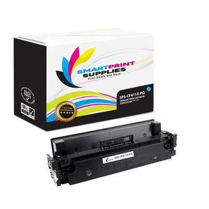 HP 410X CF411X Premium Replacement Cyan High Yield Toner Cartridge by Smart Print Supplies