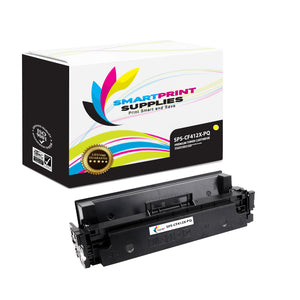 HP 410X CF412X Premium Replacement Yellow High Yield Toner Cartridge by Smart Print Supplies