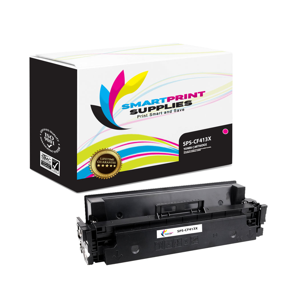 HP 410X CF413X Replacement Magenta High Yield Toner Cartridge by Smart Print Supplies