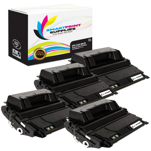4 Pack HP 42A Q5942A Replacement Black MICR Toner Cartridge by Smart Print Supplies