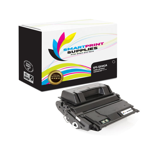 HP 42A Q5942A Replacement Black Toner Cartridge by Smart Print Supplies