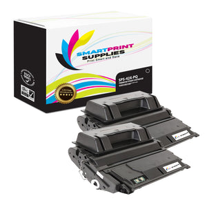 2 Pack HP 42X Q5942X Premium Replacement Black Toner Cartridge by Smart Print Supplies