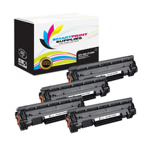 4 Pack HP 48A Black Toner Cartridge Replacement By Smart Print Supplies