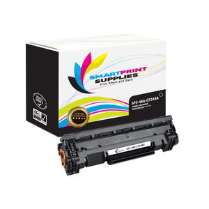 1 Pack HP 48A Black Toner Cartridge Replacement By Smart Print Supplies
