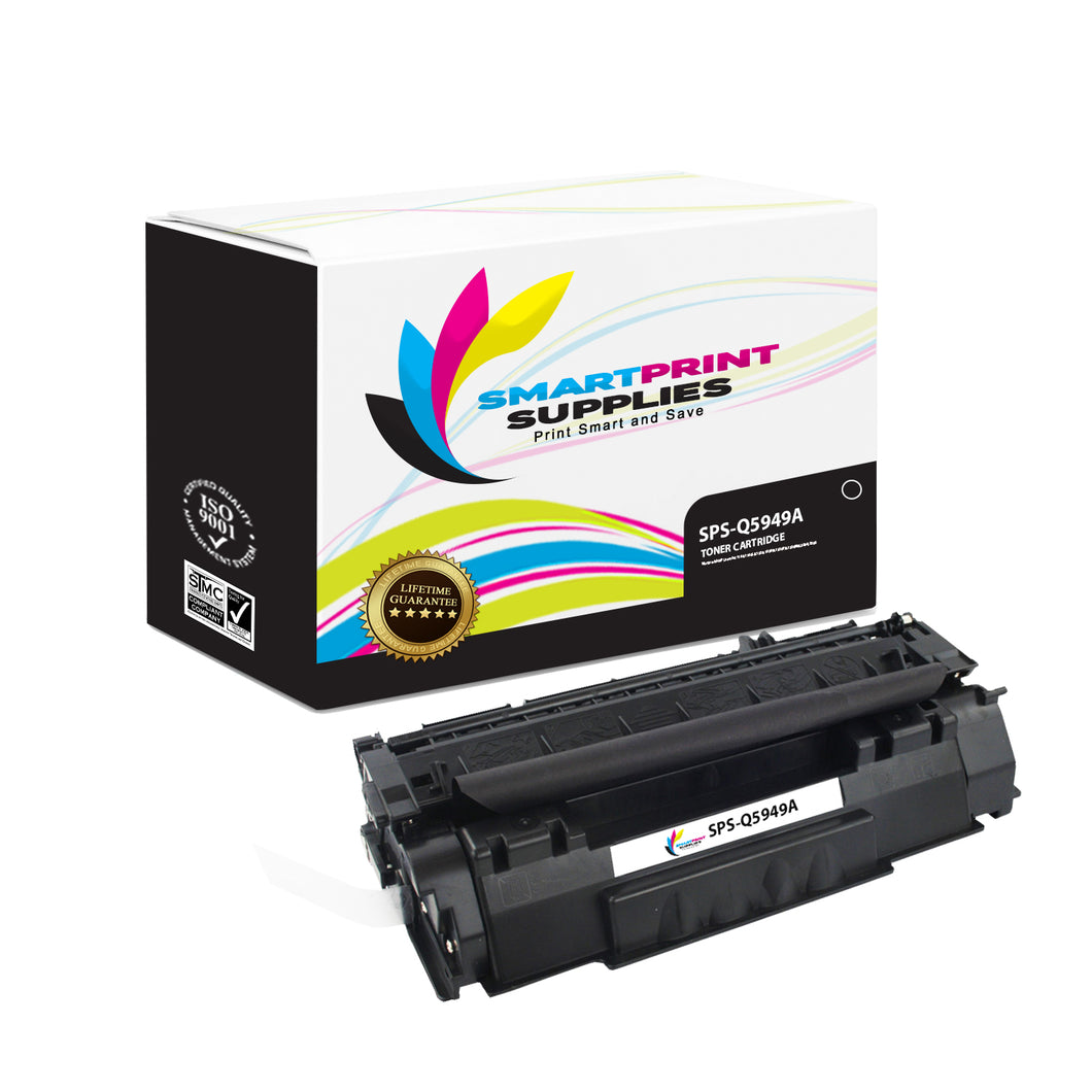 HP 49A Q5949A Replacement Black Toner Cartridge by Smart Print Supplies