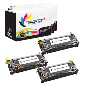 3 Pack HP 501A/502A Premium Replacement 3 Colors Toner Cartridge by Smart Print Supplies