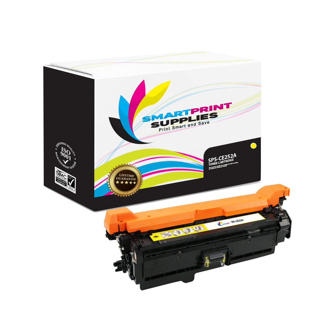 HP 504A/504X CE252A Replacement Yellow Toner Cartridge by Smart Print Supplies
