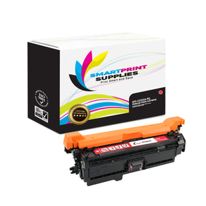 HP 504A/504X CE253A Premium Replacement Magenta Toner Cartridge by Smart Print Supplies