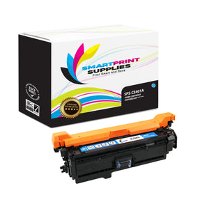 HP 507A/507X CE401A Replacement Cyan Toner Cartridge by Smart Print Supplies