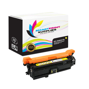 HP 507A/507X CE402A Premium Replacement Yellow Toner Cartridge by Smart Print Supplies