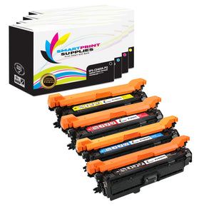 4 Pack HP 507X Premium Replacement (CMYK) Toner Cartridge by Smart Print Supplies