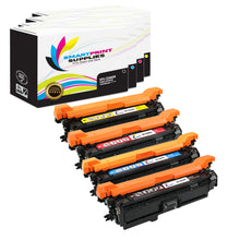 4 Pack HP 507A/507X 4 Colors Toner Cartridge Replacement By Smart Print Supplies