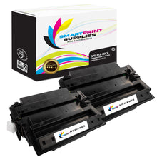 2 Pack HP 51A Q7551A Replacement Black MICR Toner Cartridge by Smart Print Supplies