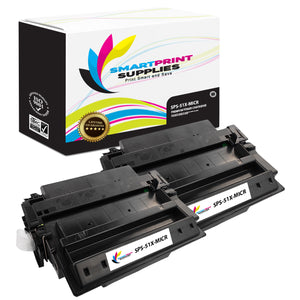 2 Pack HP 51X Q7551X Replacement Black High Yield MICR Toner Cartridge by Smart Print Supplies