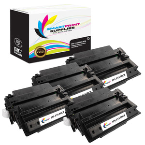 4 Pack HP 51X Q7551X Replacement Black High Yield MICR Toner Cartridge by Smart Print Supplies