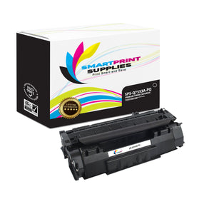 HP 53A Q7553A Premium Replacement Black Toner Cartridge by Smart Print Supplies